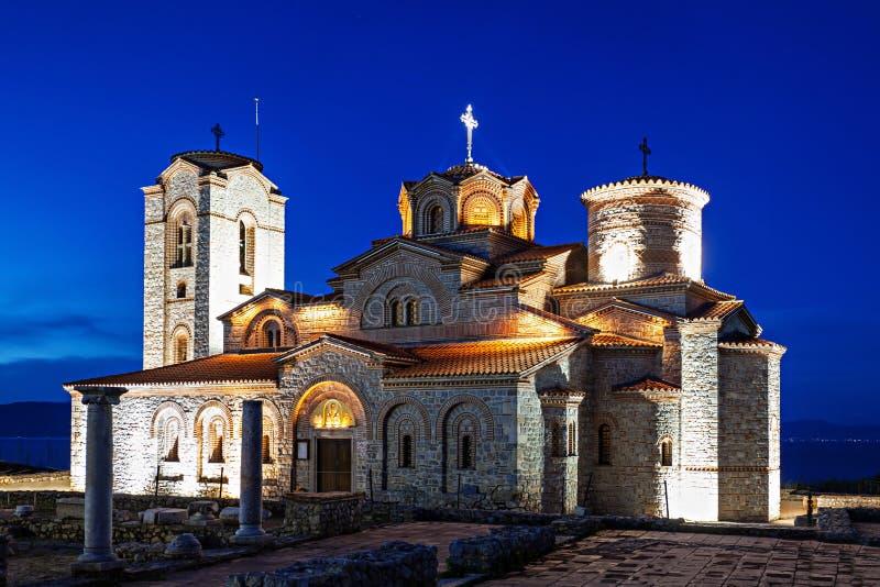 St. Panteleimon Church. Church of St. Panteleimon in Ohrid, Macedonia royalty free stock image