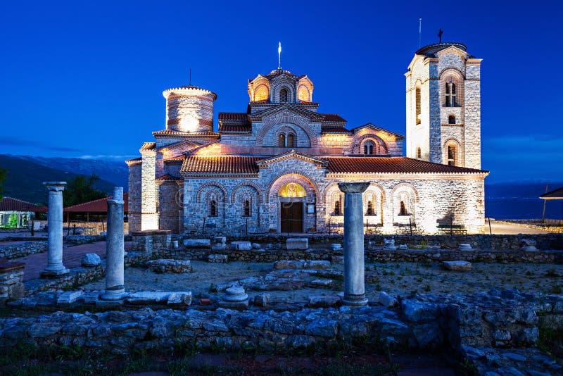 St. Panteleimon Church. Church of St. Panteleimon in Ohrid, Macedonia stock images