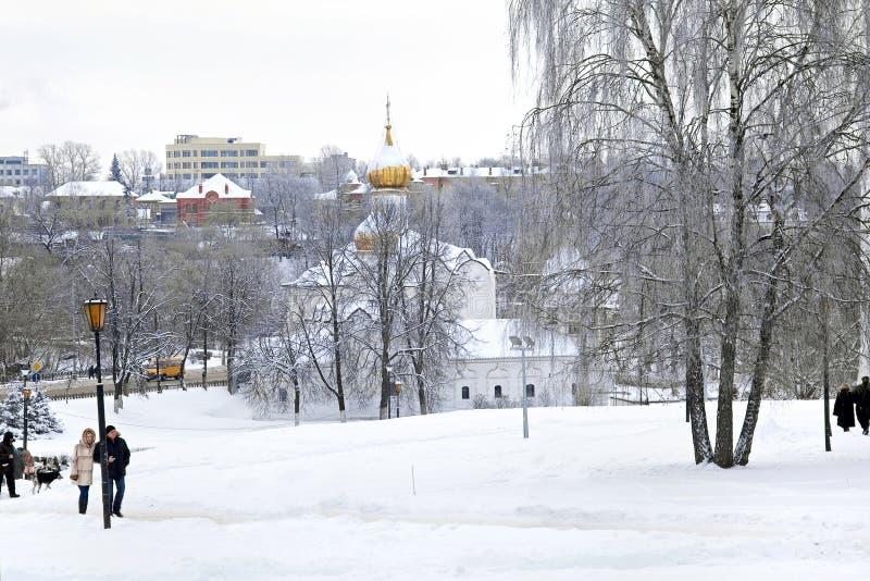 St Paraskeva Church em Podil foto de stock