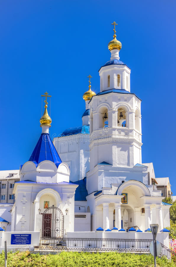 St Paraskeva Friday Kazan Russia da igreja foto de stock