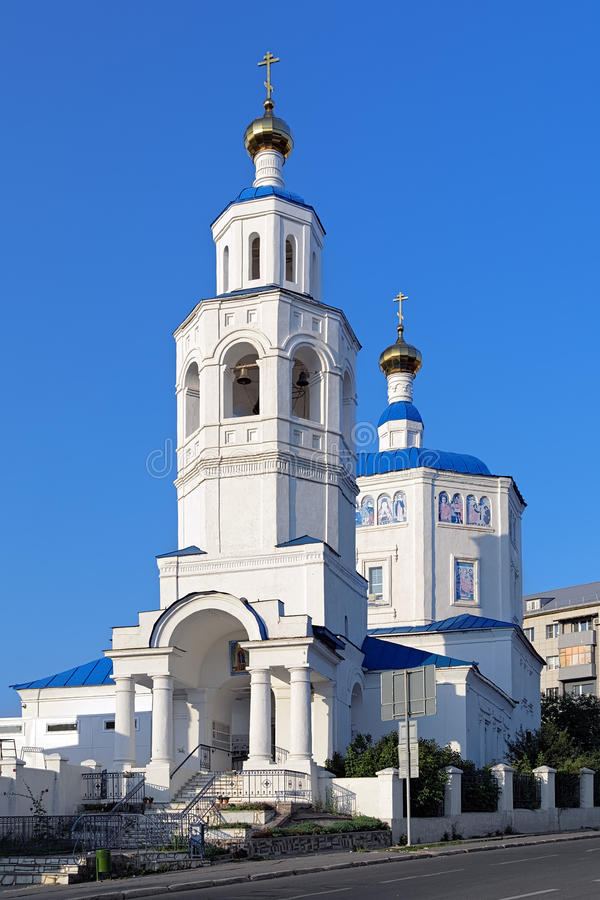 St. Paraskeva kościół w Kazan, Rosja obrazy royalty free