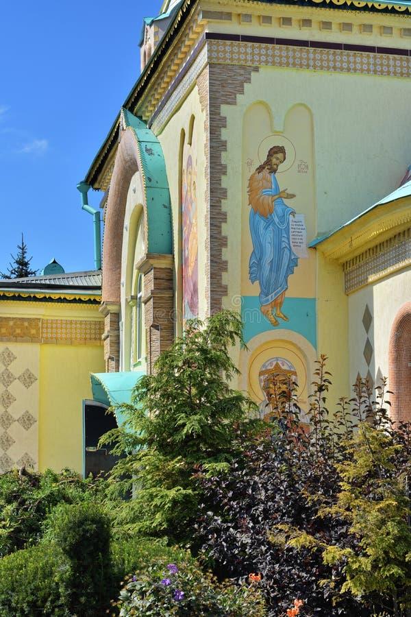St Paraskeva-Pyatnitsa monaster Rosyjski eklektyzmu architekt obraz royalty free