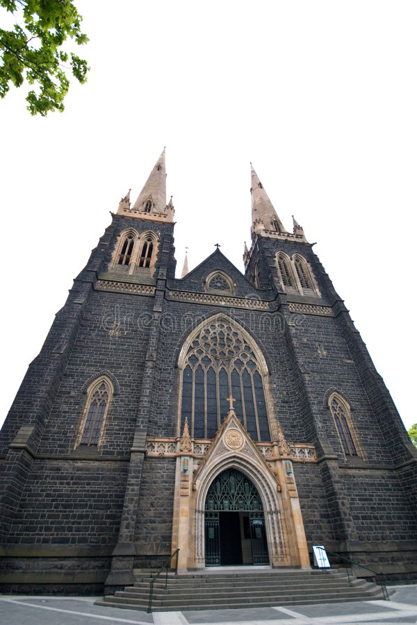 St. Patrick's Cathedral, Australia royalty free stock photo