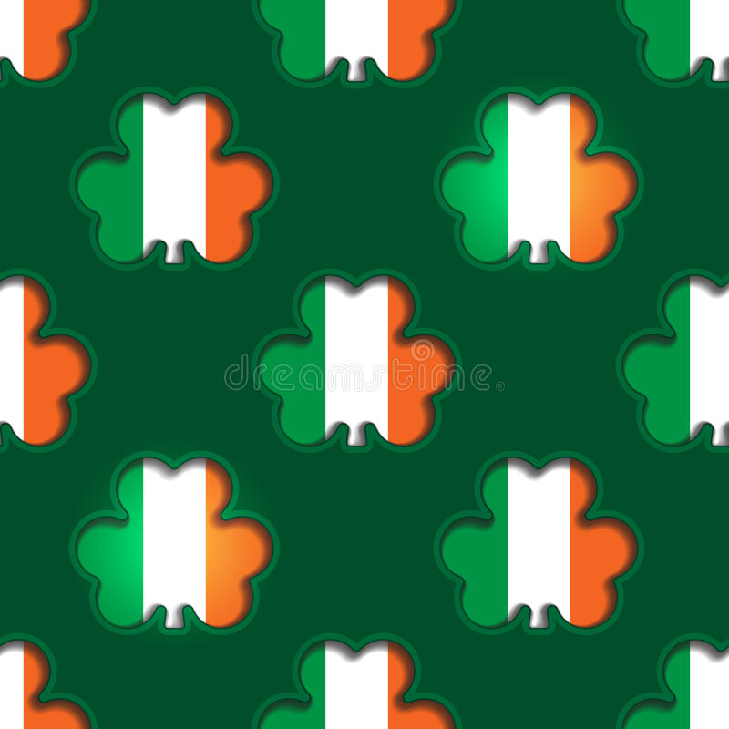 St Patrick's Day Background vector illustration