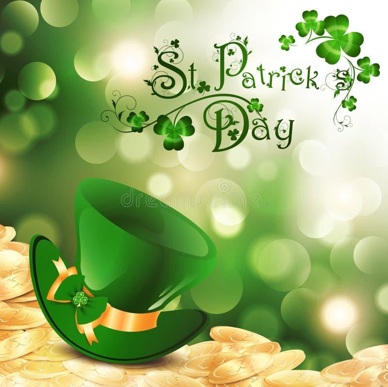 St.Patrick ilustração royalty free