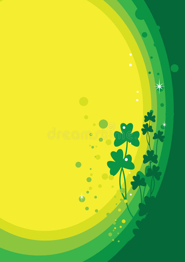 St Patrick BG 2 stock illustratie