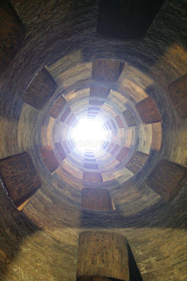 St Patrick bien en Orvieto Italia imagen de archivo libre de regalías