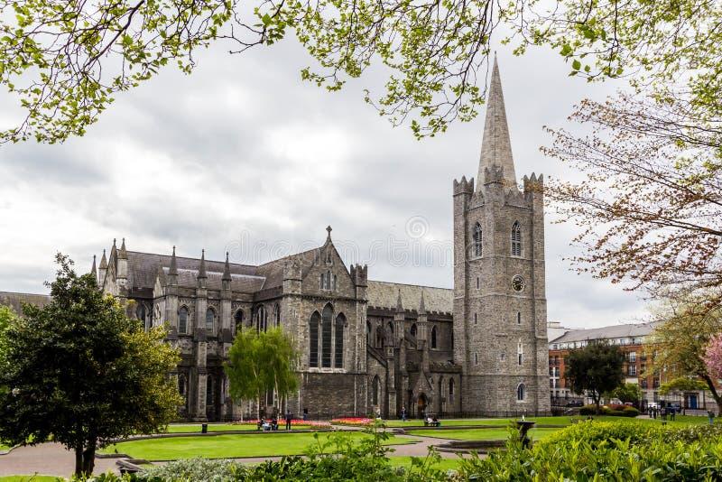 St Patrick & x27; catedral de s, Dublin, Irlanda foto de stock