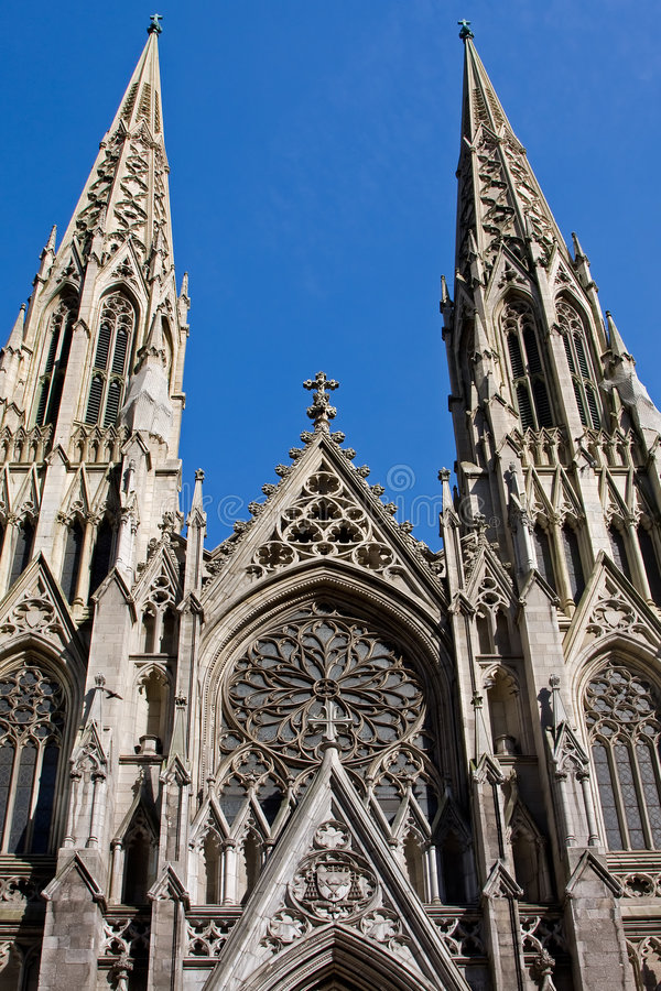St. Patrick Cathedral royalty free stock photography