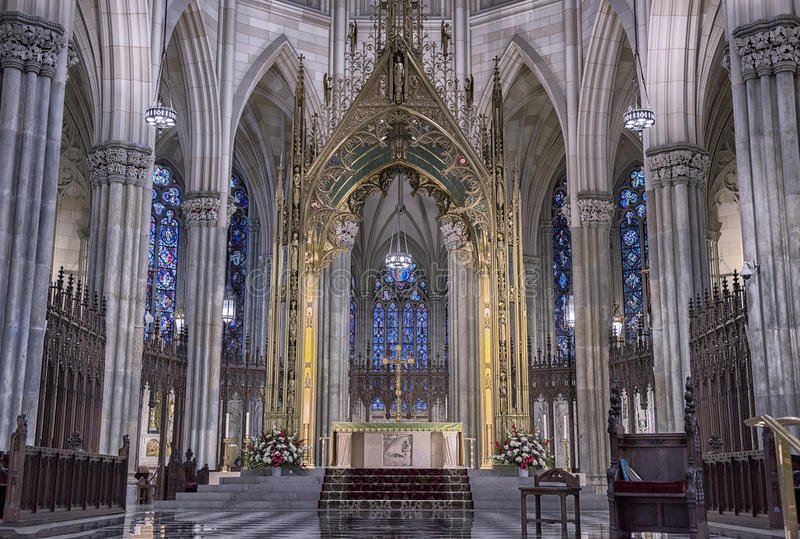 St Patrick CAthedral stock photo