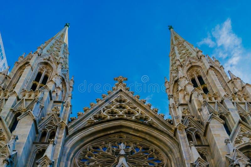 St Patrick & x27; cattedrale di s immagine stock
