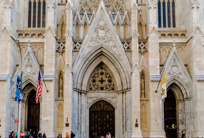 St Patrick & x27; cattedrale di s immagine stock libera da diritti