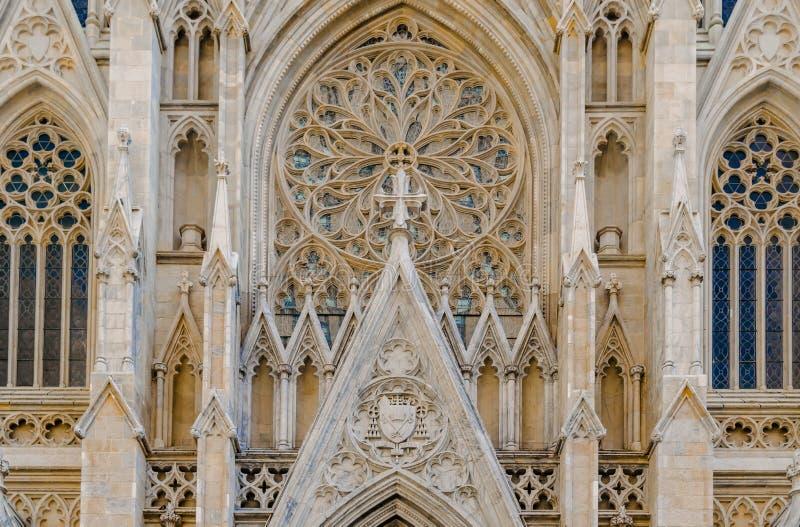 St Patrick & x27; cattedrale di s fotografie stock