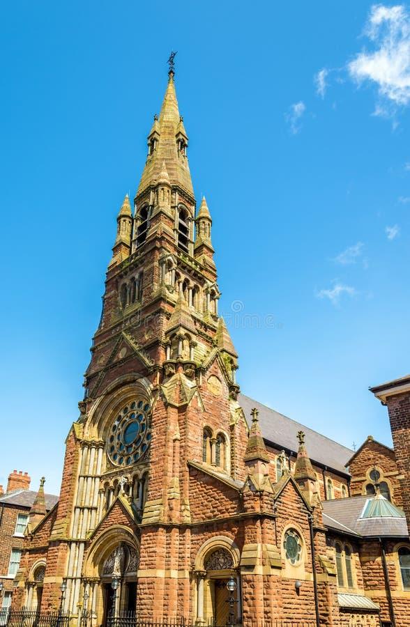 St Patrick Church i Belfast royaltyfri fotografi