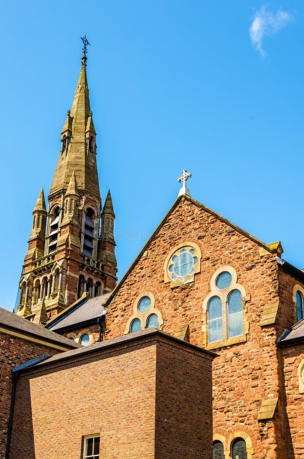 St Patrick Church i Belfast royaltyfri bild