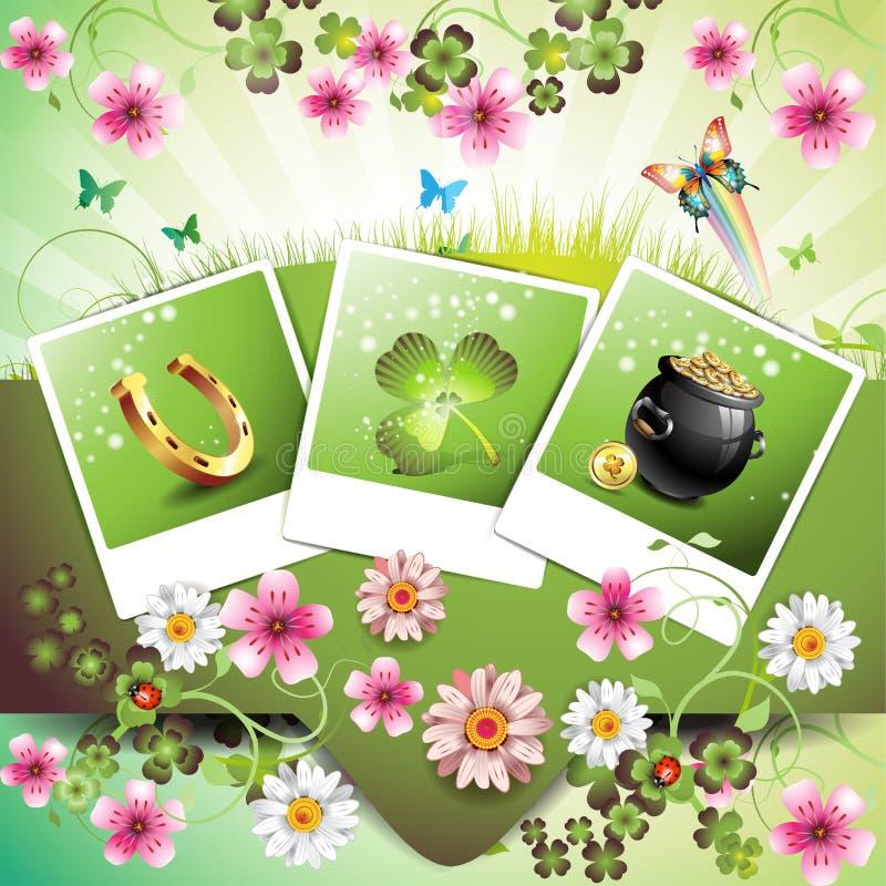 St. Patrick Dag stock illustratie