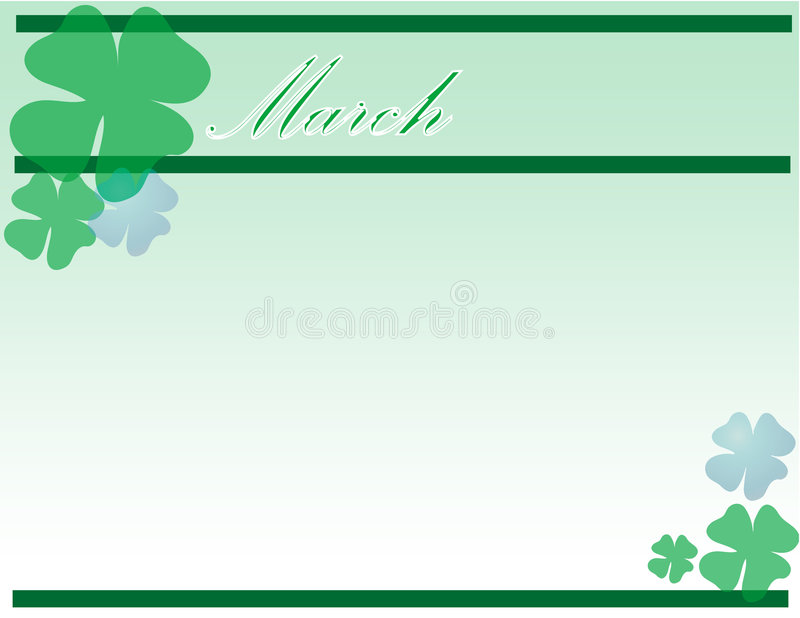 St.Patrick Dag stock illustratie