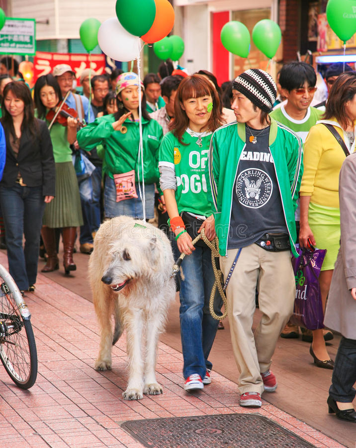 St. Patrick Dagparade stock afbeeldingen