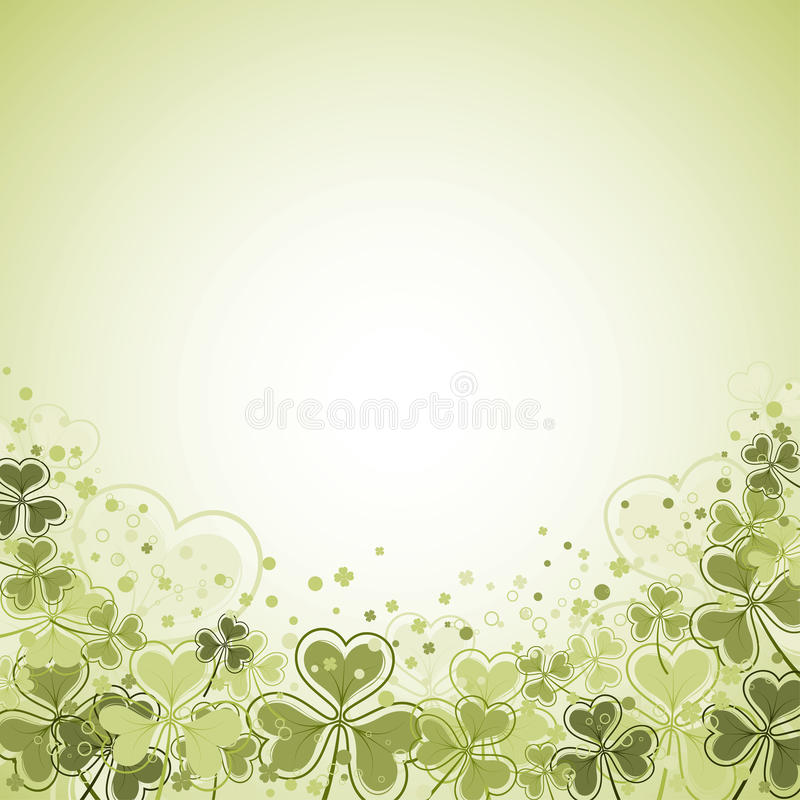 St. Patrick Day Background vector illustratie