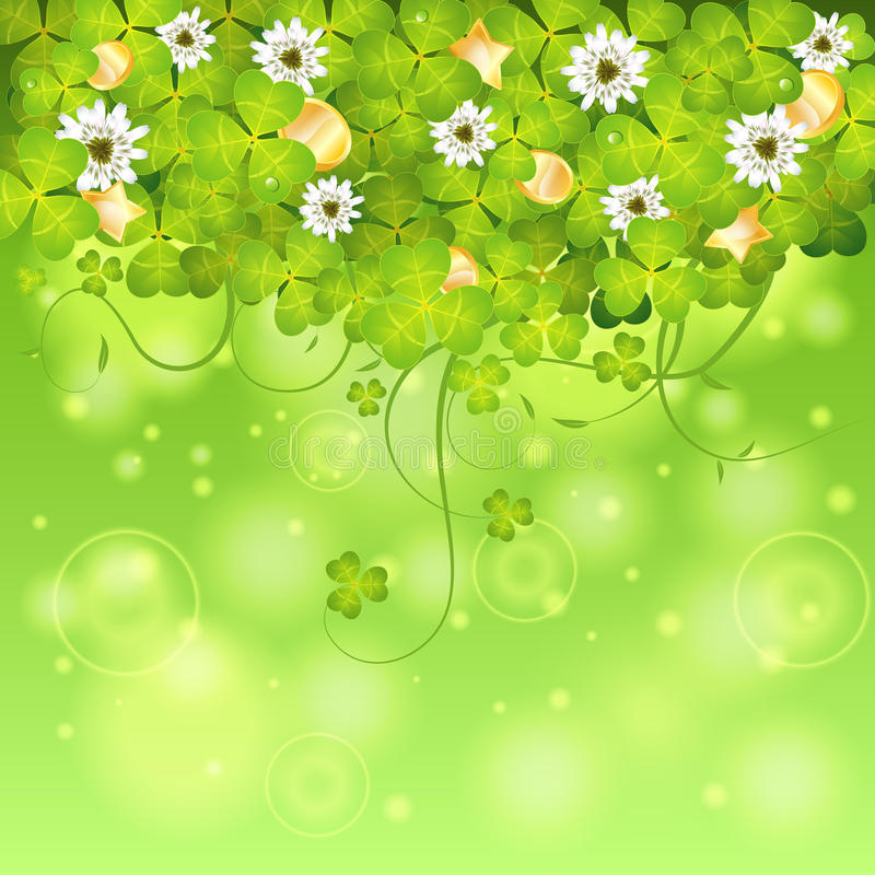 Download St. Patrick Day Frame vektor illustrationer. Illustration av dagg - 37345306