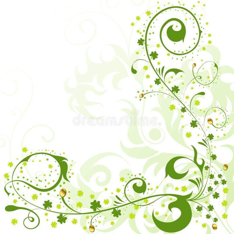 St. Patrick Day grens royalty-vrije illustratie