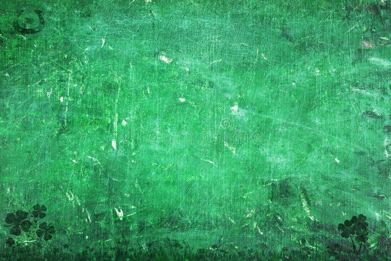St. Patrick de Achtergrond van de Dag vector illustratie