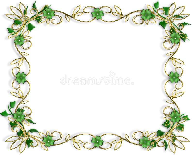 St Patrick de Achtergrond van de Dag vector illustratie