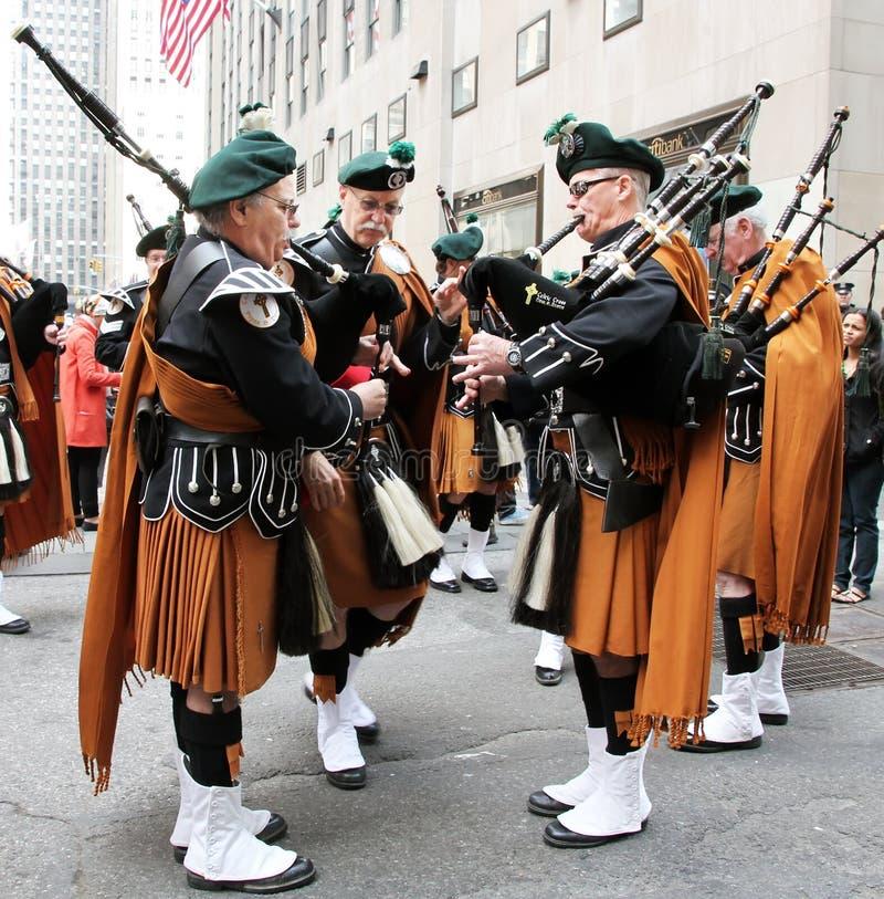 St. Patrick de Parade van de Dag stock foto