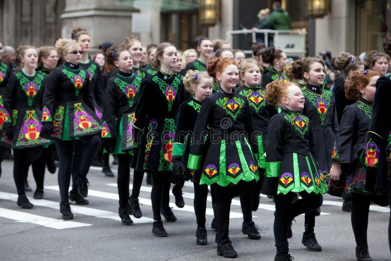 St. Patrick dnia parada Nowy Jork 2013 zdjęcia stock