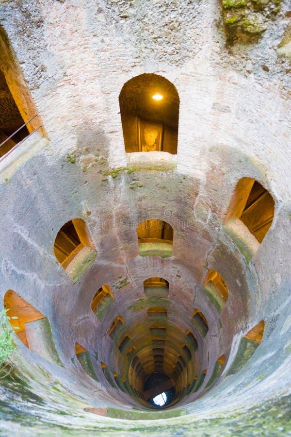 St Patrick Dobrze xvi wiek w Orvieto, Umbria, środkowy Włochy obraz royalty free