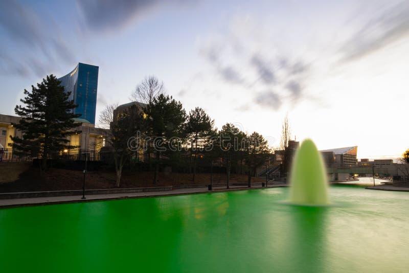 St Patrick dzie? Indianapolis obrazy royalty free