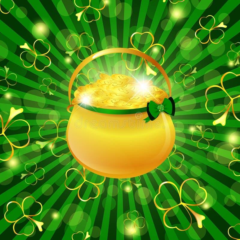 St.Patrick Feiertag vektor abbildung