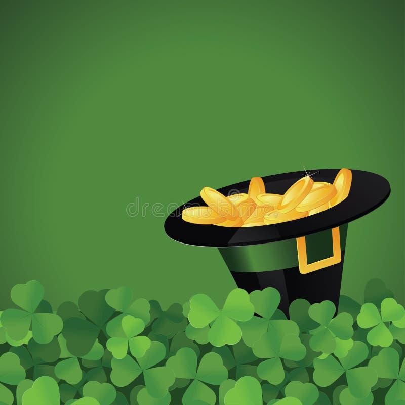 St. Patrick het feestelijke frame van de Dag vector illustratie
