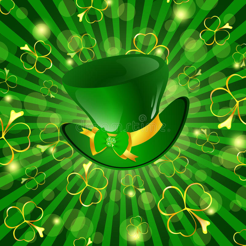 St.Patrick holiday stock illustration