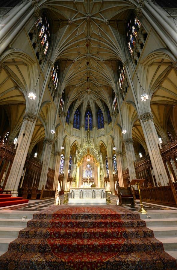 St Patrick Kathedrale, New York City lizenzfreie stockbilder