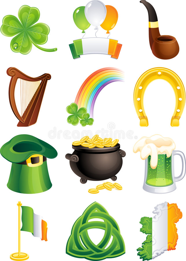 St. Patrick pictogram