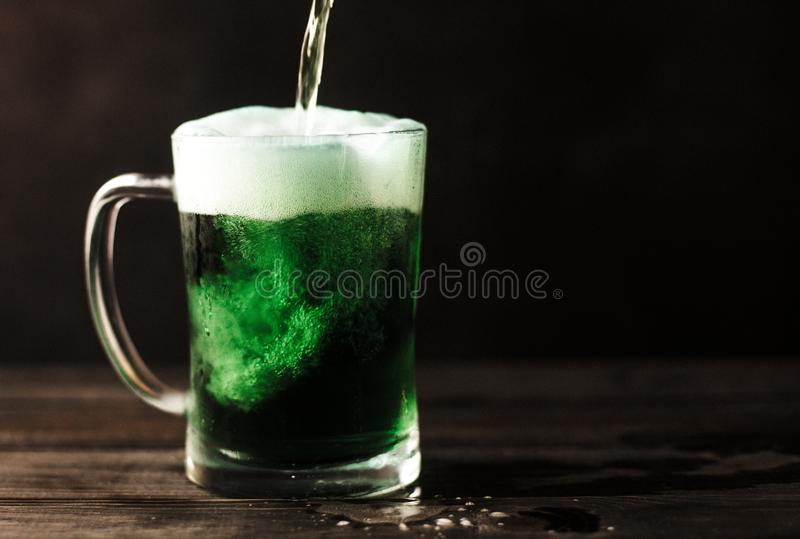 St. Patrick`s beer stock photos