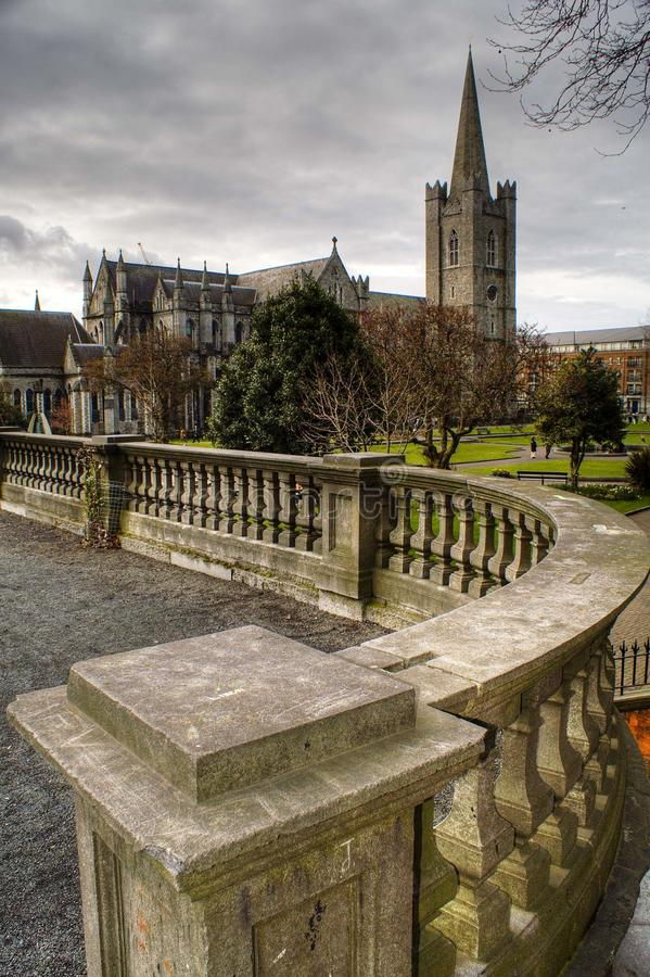 St. Patrick's Cathedral royalty free stock photo
