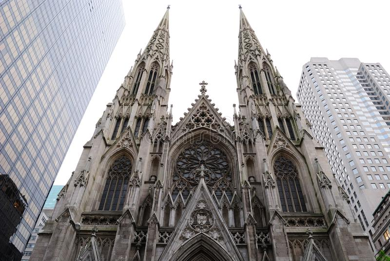 St. Patrick S Cathedral Editorial Photography