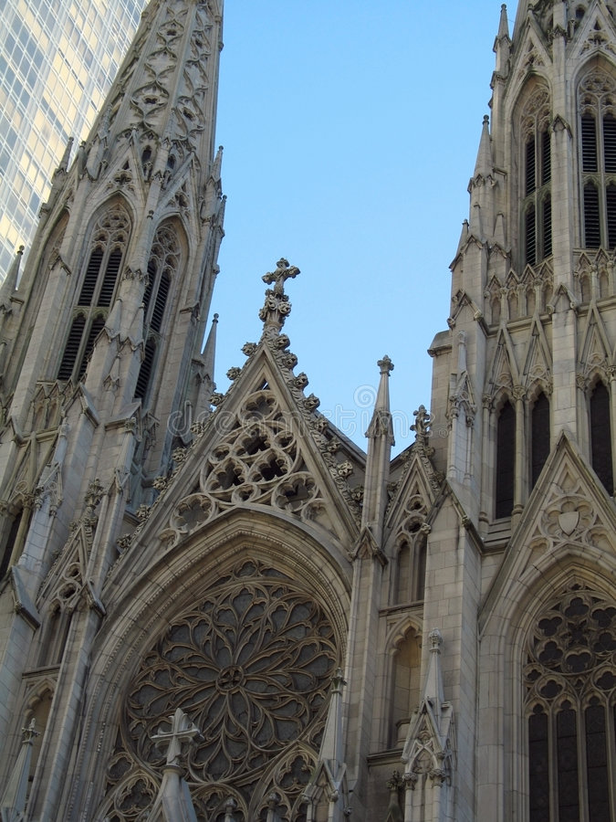 Download St. Patrick's Cathedral stock image. Image of architecture - 88921