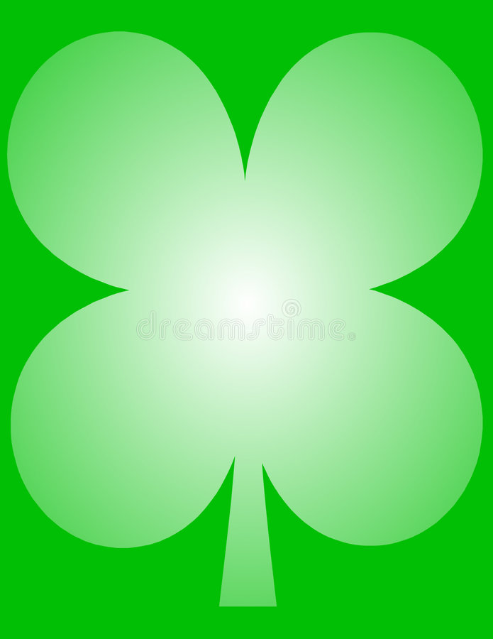 St. Patrick S Clover Leaf Royalty Free Stock Photo