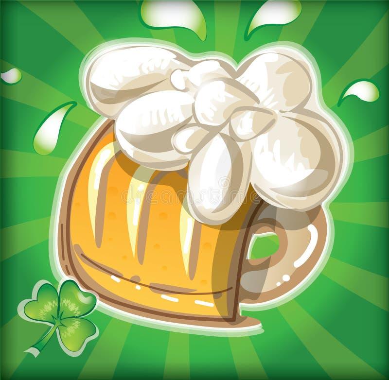 St. Patrick `s dagontwerp royalty-vrije illustratie
