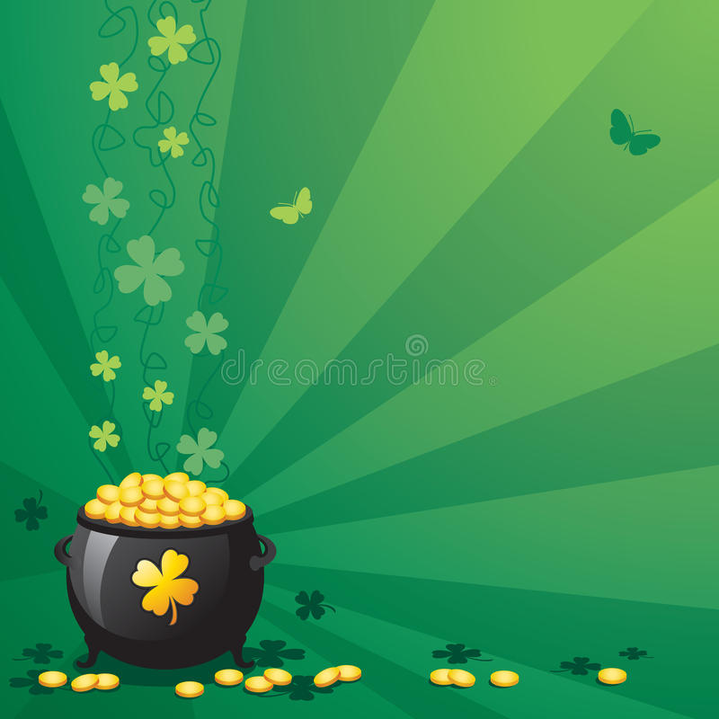 St. Patrick's Day stock illustration