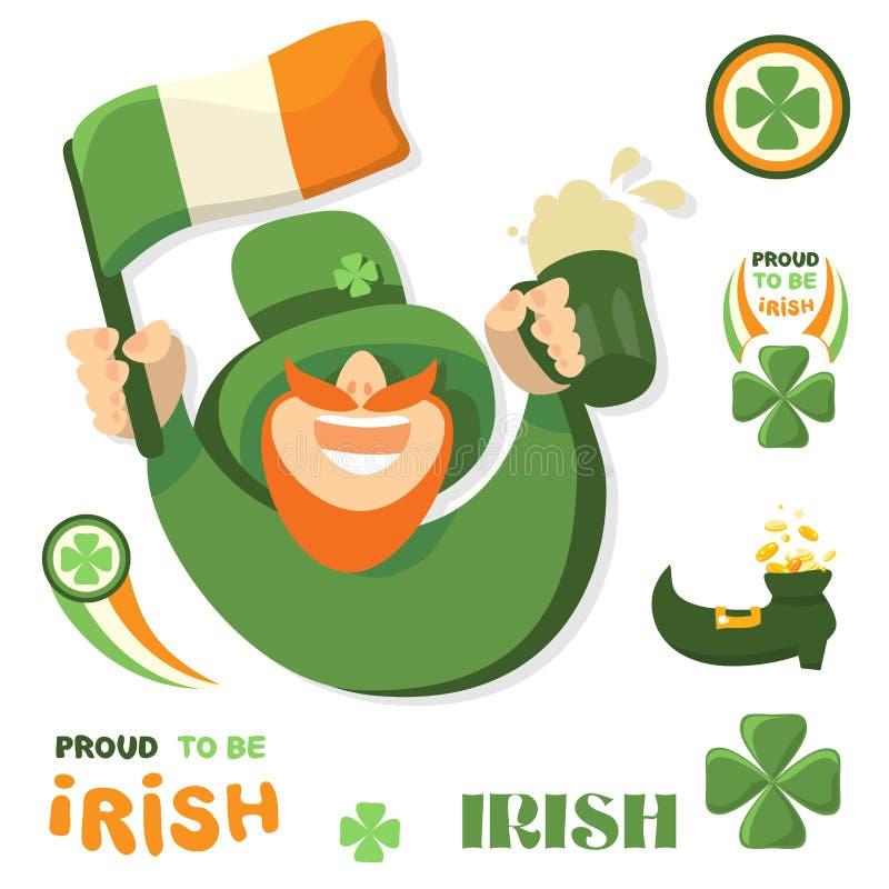 St. Patrick's Day vector illustration