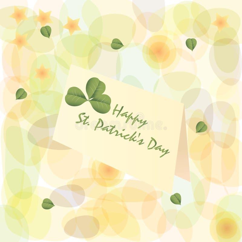 St. Patrick's Day. royalty free illustration