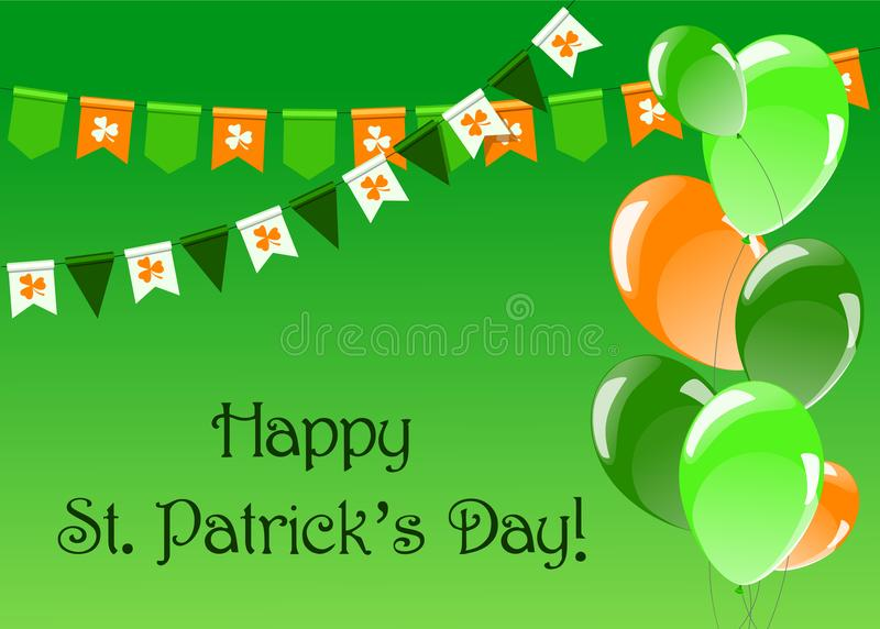 St.Patrick`s Day background Vector illustration vector illustration