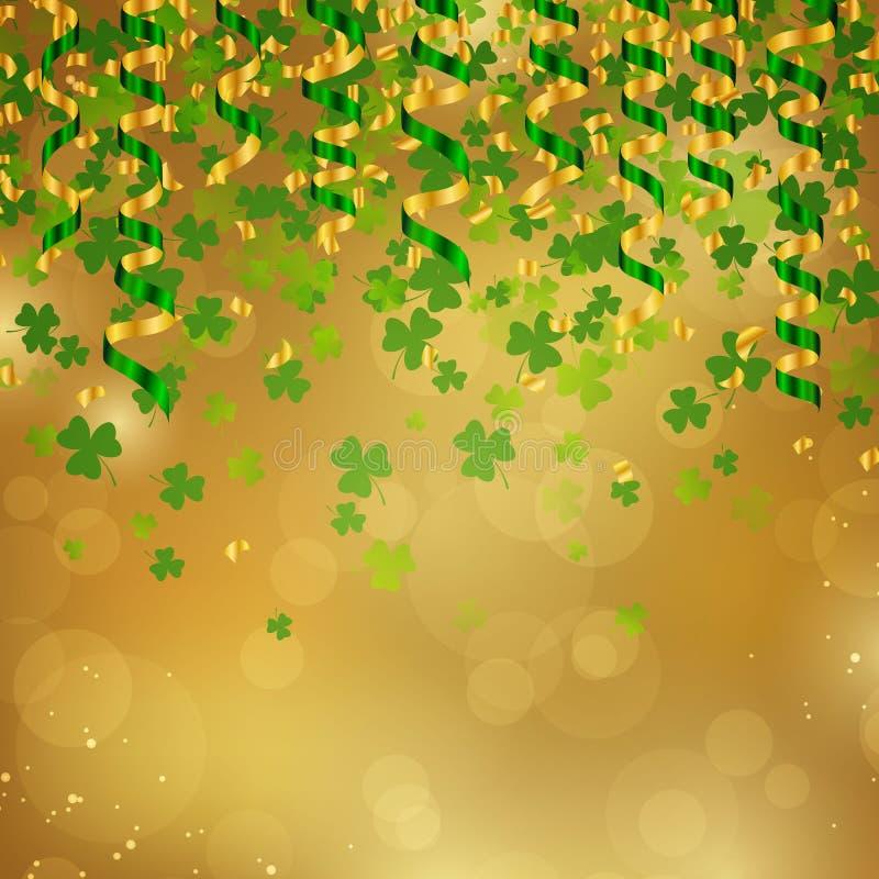 St. Patrick's Day Background. Illustration of a St. Patrick's Day Background stock illustration