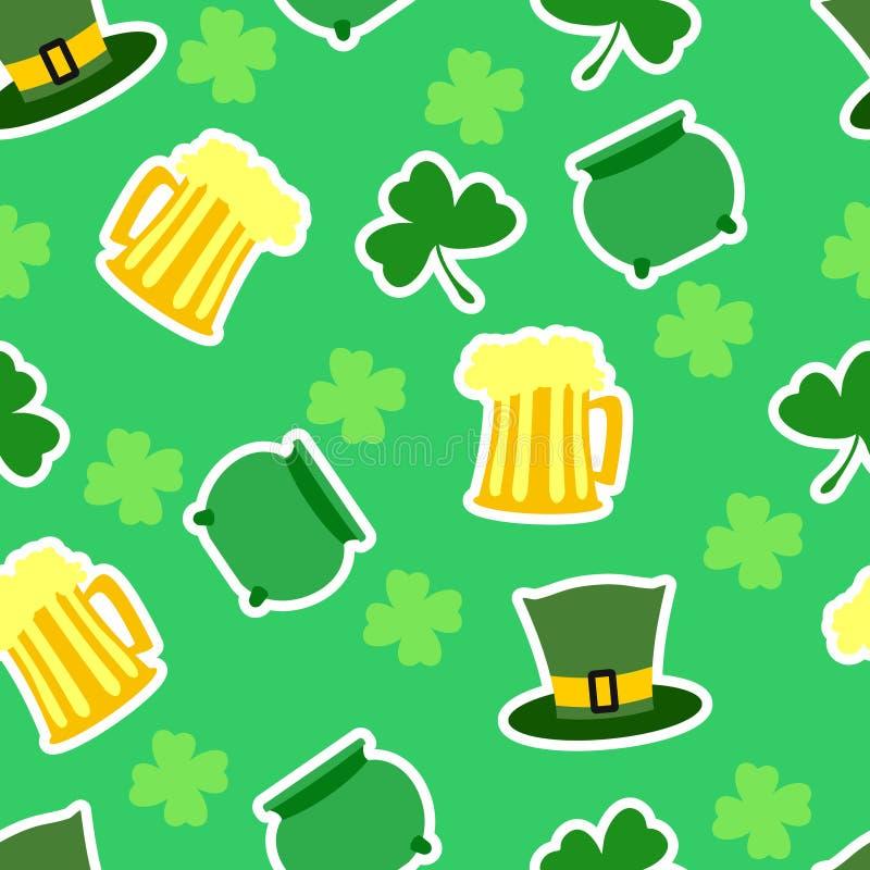 St.Patricks day background royalty free illustration
