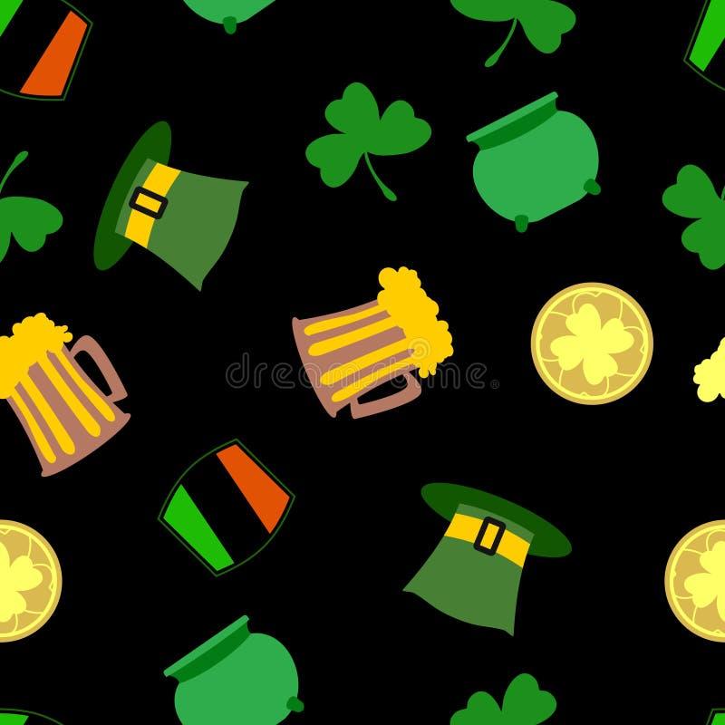 St.Patricks day background stock illustration