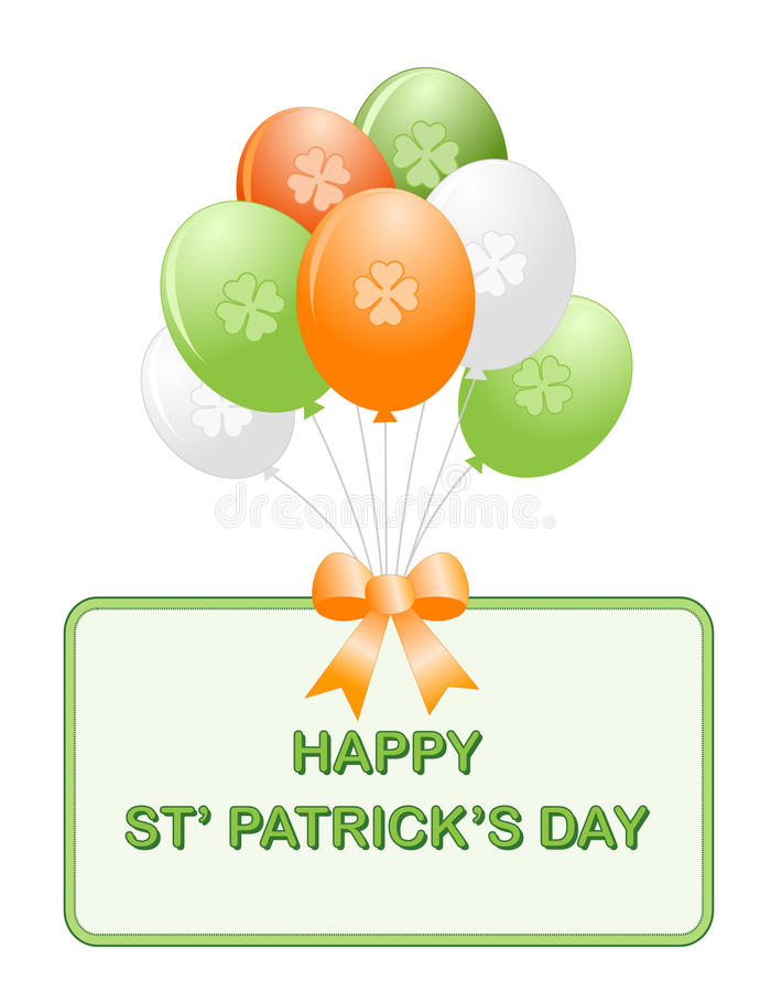 Download St. Patrick's Day Balloons Royalty Free Stock Photos - Image: 17179358